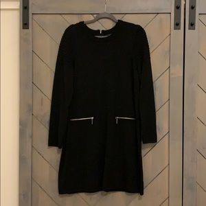 Tahari Black Sweater Dress